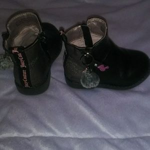 Juicy Couture toddler boots